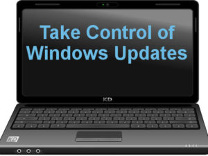 Take back control of Windows 10 Updates and install them only when you want them and not when Microsoft forces them on you!