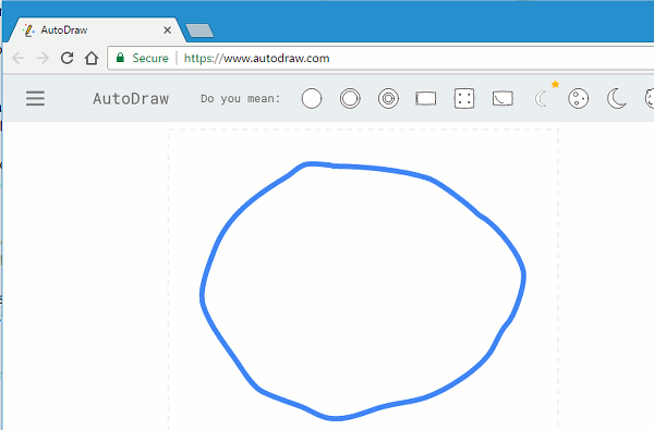 Draw in the browser with Google AutoDraw