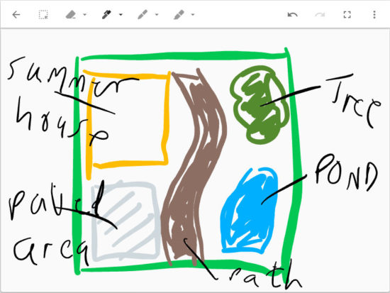 Insert a drawing in to a Google Keep note