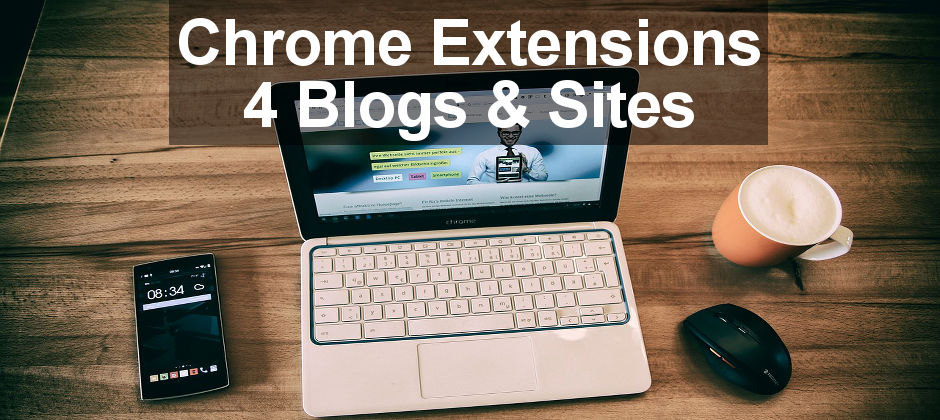 2 Chrome extensions anyone with a blog or website will find useful. Use them to analyse and monitor your site and see important statistics