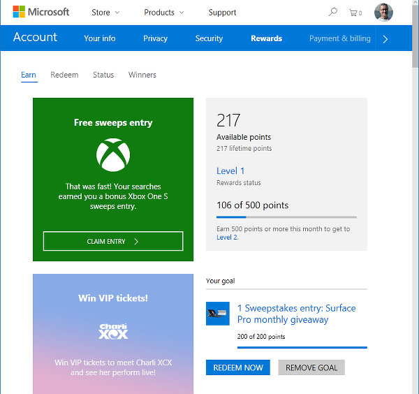 How to configure Edge browser and join Microsoft Rewards