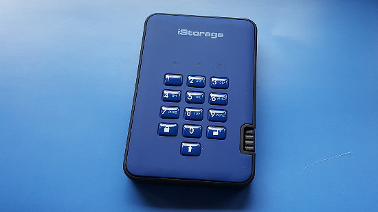 iStorage diskAshur2 USB drive with hardware encryption