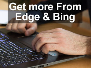 Get more from Microsoft Edge browser by configuring the Start page. Use Edge and Bing to join Microsoft Rewards and earn points.