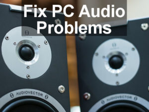 Problems with the sound in Windows can sometimes appear after an operating system update. These tips and tweaks will fix the audio if it is not working.