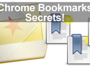 Master Chrome bookmarks with the aid of these top tips. Turn bookmarks into menus and install a brand new Bookmarks Manager.