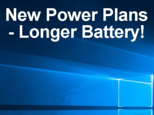 New power options in Windows 10 Fall Creator's Update make adjusting the balance between battery life and performance simpler