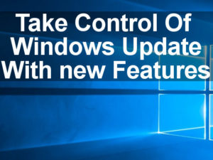 A guided tour of he new features in Windows Update in Windows 10 Fall Creator's Update. Delivery Optimisation is now much better.