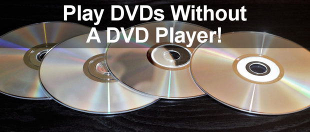 What can you do if your computer does not have a DVD drive? Convert your DVDs to .iso files and play them with VLC