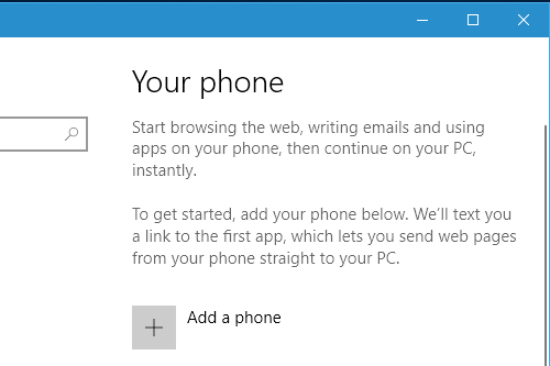 Add your phone number to Windows Phone