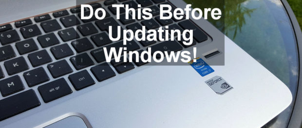 What to do to get your PC ready before installing Windows 10 Fall Creator's Update. The essential tasks.