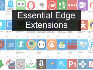The best extensions for Edge browser in Windows 10, including YouTube tools, money saving coupons, password managers and more