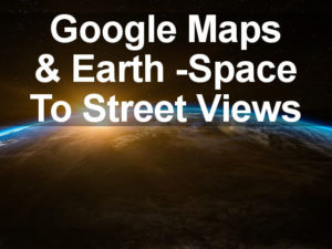 Google Maps lets you zoom out so far you are in space! Explore the planets, moons and International Space Station