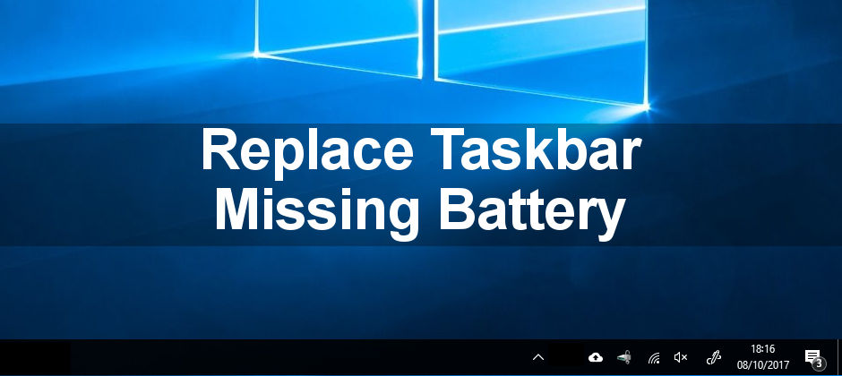 Restore a missing battery icon on the taskbar in Windows with this guide. It takes just a minute to put it back.