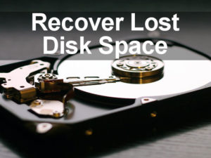 Find out what is using the most space on the disk in PCs using the Windows Settings app.