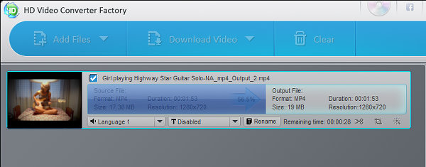HD Video Converter Factory for Windows