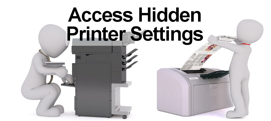 How to access the web server inside some wireless printers, such as HP models.
