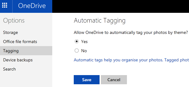 How to browse photos by tags and location on OneDrive
