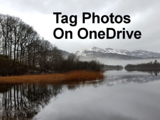 How to tag photos on Microsoft OneDrive automatically. Browse photos by tag and by location.