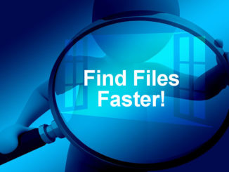 Replace the slow Windows Explorer search with a faster utility that finds files in under a second.