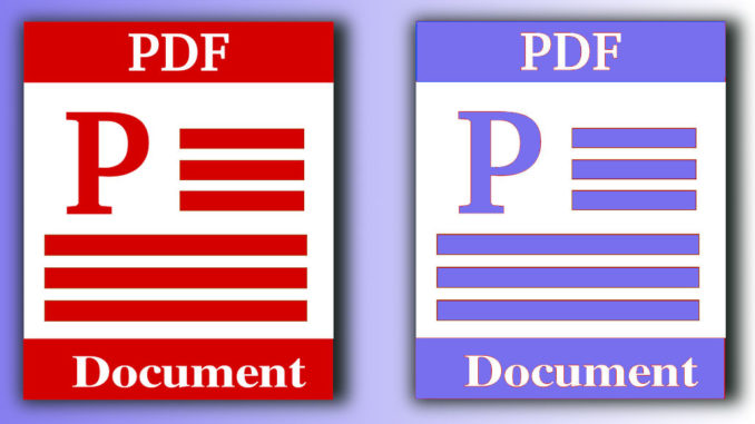 how to change pdf so you can search