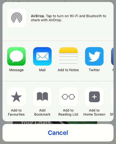 share apps on iphone customise the options on the iphone and add more icons 16112